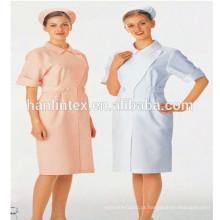 Tecido de sarja TC para vestuário uniforme hospitalar