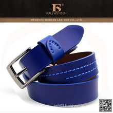 Wholesale custom genuine highest quality leather fancy belts for men