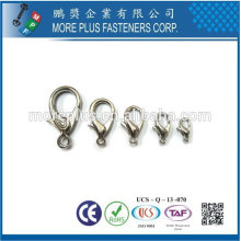 Taiwan Brass Metal Copper Gold Plated Swivel Clip Swivel Badge Clip Swivel Snap Hook