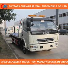 Dongfeng Wrecker camión 120HP recuperación camión Dongfeng 4X2 camión de auxilio