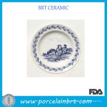 Placa de cerámica del diseño personalizado moderno