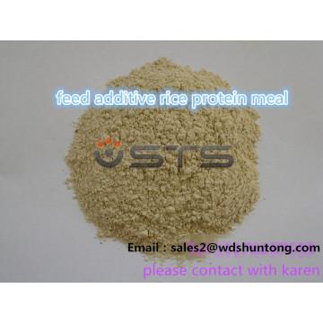Repas de protéine de riz d'additif d'alimentation de haute qualité pour l'alimentation des animaux