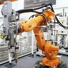 Chaîne de production de robot d'automation industrielle