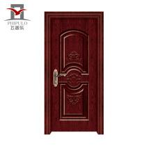 Usine fabriquant une porte en bois en acier de nouvelle conception professionnelle