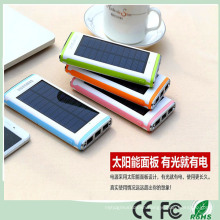 12000mAh External Solar Battery Charger 3 USB Port with LED Flashlight for iPhone Xiaomi HTC (SB-7688)