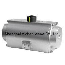 Actionneur pneumatique à ressort de rappel en acier inoxydable (YCSAT)