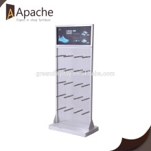 retail shop Slat wall Display rack