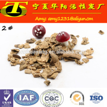 High water filtering velocity filter media dry walnut shell grit filter materials for sale