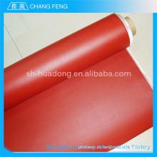 Caucho de silicón de resistencia a la corrosión excelente cubrió la tela aislante de fibra de vidrio