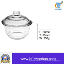 Clear Glass Sweetmeat Bowl Snack Bowl Kitchenware Kb-Hn0366