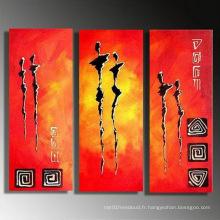 Peinture à l'huile de groupe à la peinture moderne