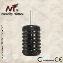 N301002-30mm Aluminum Grips Black Tattoo