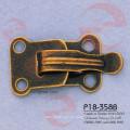 Accesorio de la ropa del metal del latón del hierro de la moda del vintage