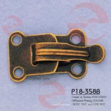 Vintage Fashion Iron Brass Acessório de vestuário de metal