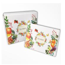 Caja impresa de papel expreso personalizado.