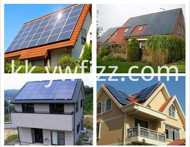 Rooftop solar power generation system