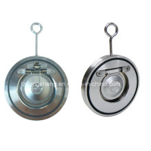 Válvula de Retenção de Disco Único de Tipo Aço Inoxidável CF8m