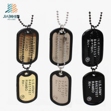 Good Quality Wholesale Custom Engrave USA Military Dog Tag