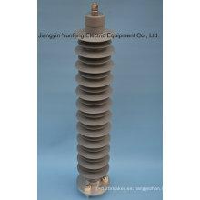 Pararrayos de óxido metálico para protección del neutro de transformador