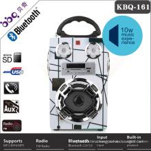 Hot sale Flashing LED speaker Bluetooth usb card colorful portable dancing flower speaker