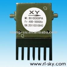 1.25 VSWR 400-500MHz UHF rf coaxial isolator
