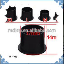 Black disposable Sterile tattoo ink cups