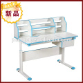 Home kid children student study desk laptop table with shelf