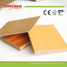 18mm Melamin MDF Board von Shandong