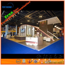 wooden painted exhibition booth and easy to set up and take down ,gold supplier in shanghai