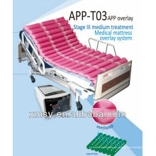 Dinâmico sistema de sobreposição de colchão médico alternativo para decúbito APP-T03
