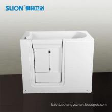 White Deeply acrylic walk in bathtub for elder people                                                                         Quality Choice