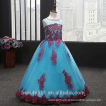 Vestido de noiva infantil exclusivo e respirável vestido de festa vestido de festa ED589
