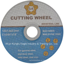 5 Zoll Ss Cut Wheel, schwarze Doppelnetze Trennscheibe