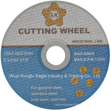 5 Inch Ss Cut Wheel, Black Double Nets Cutting Disc