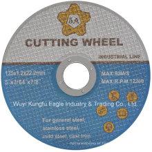 Roda de 5 polegadas Ss Cut, Black Double Nets Cutting Disc