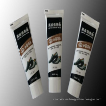 Tubos de aluminio y envases de plástico tubos de aceite de cuero suaves