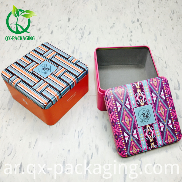 Wholesale Custom Branded Tin Box