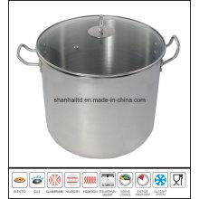 Stainless Steel Big Deep Soup Pot