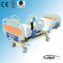 Motorized Hospital Bed, Five Functions Electric ICU Bed (XH-6)