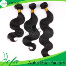 2014 cabelo ondulado da onda do Virgin elegante superior quente do estilo da categoria