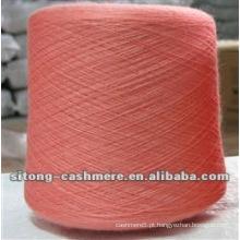 100% fio de caxemira de lã