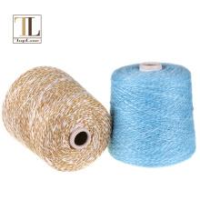 Topline thick 100% cashmere slub yarn