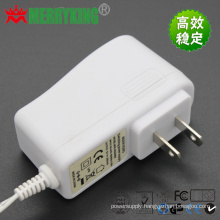 White 6W Switching Power Supply Power Adapter 9V1a AC/DC Adapter with USA Plug