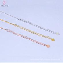Precio de fábrica Pure 925 Sterling Silver Chain Necklace Jewelry