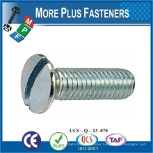 Made in Taiwan Made in Taiwan Slotted Raised Countersunk Head Machine Screw DIN 964