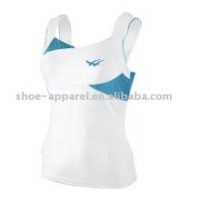 Оптовая профессиональный теннис 2014 танк топ для женщин,теннис носить