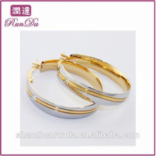 Alibaba new arrival fancy design gold earring