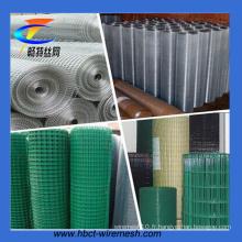 Maille métallique soudée revêtue de PVC / Mesh moulé soudé galvanisé à chaud