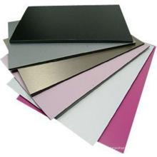 revestimiento interior / exterior del diseño del precio competitivo fabricante de panel compuesto de aluminio de alta calidad incombustible