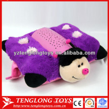 Hot in children new design stuffed bee plush projection toy